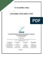 SMEDA Lingerie Stitching Unit