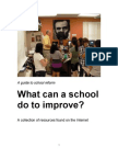 BuildTheFuture.net Presents A Guide to School Reform
