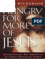 Avoir plus faim de JESUS°David WILKERSON°342