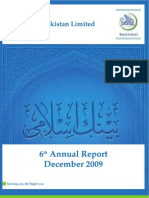 Bank Islami Annual Report 2009