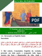 """2º Domingo após de Pentecostes"" rito melquita"