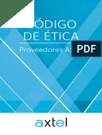 Codigo de Etica Proveedores Axtel Digital