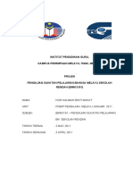 projek pengajian sukatan bahasa melayu sekolah rendah (BMM3101)