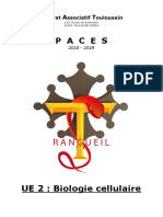 S1 - UE2 Biologie cellulaire Rangueil 2018-2019