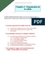 Organisation de La Cellule