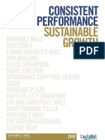 CapitalMall Trust Annual Report 2010