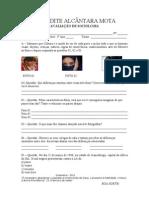 AVALIAÇÃO DE SOCIOLOGIA 1º BIMESTRE:2011 - 1º ANO