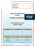 A3 Licence Electronique