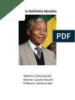LUCIANO, Nelson Mandela