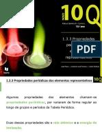 1.3.3. Propriedades periódicas dos elementos representativos