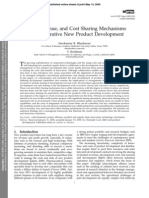 Effort, Revenue, and Cost Sharing Mechanisms