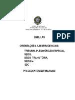 LIvro de Súmulas, OJ e PN