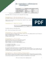 2 Substances Chimiques Cours Examens.org