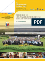 Proceedings of the International Conference on Sustainable Coastal and Ocean Development