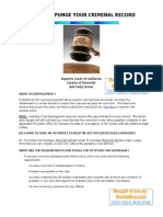 How to Expunge Your Criminal Record in Riverside County