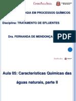 Caracteristicas Quimicas Das Aguas Naturais - Parte II
