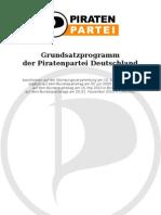 Piratenpartei Parteiprogramm 2011