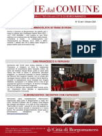 Notizie Dal Comune di Borgomanero del 2-10-2021