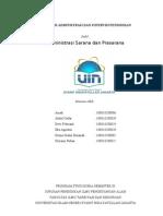 makalah admin-SARANA&prasarana