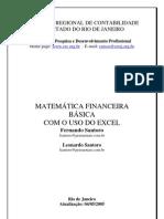 MATEMATICA FINANCEIRA BASICA COM O USO DO EXCEL