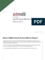 South Korea Metrics Report 2011 by Google