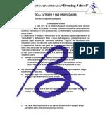 3. Práctica El Texto y Sus Propiedades