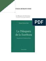 La diaspora de la escritura