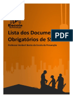 ebook Lista dos Documentos Obrigatórios de SST (1)