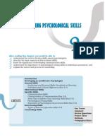 Chap 9 - Developing Psychological Skills