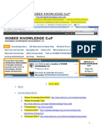 MOBEEKNOWLEDGE SITE MAP – TAXONOMY METADATA MANAGEMENT – HUMAN SYSTEM BIO-BASED KNOWLEDGE MANAGEMENT (HSBKM)