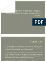 A STUDY ON WORKING CAPITAL MANAGEMENT IN INDIAN