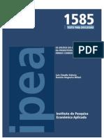 TD_1585_Os Efeitos Do E-commerce Na Produtividade Das Firmas Comer CIA Is No Brasil