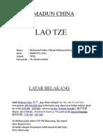 Presentation LAO TZE