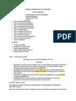 TEORIA CONSTITUCIONAL DO PROCESSO