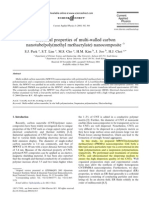 Electrical properties of multi-walled carbon MWCNT_PMMA nanocomposite