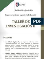 Taller de Investigación 2 - Unidad (v2)
