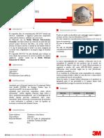 3M Protección Respiratoria Desechable - 8247