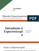 Métodos Espectroquímicos - AULA 1 (1)