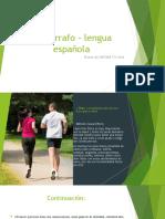 El párrafo - lengua española