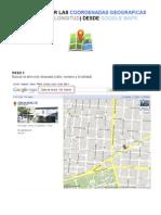 Como Obtener Las Coordenadas Geográficas (Latitud y Longitud) usando Google Maps