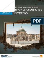 IDMC (2020) INFORME MUNDIAL DESPLAZAMIENTOS INTERNOS