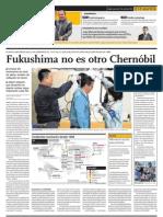 Fukushima no es otro Chernóbil