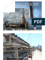 Diseño Izaje e Hinca de pilotes precolados en Muelles en Manzanillo