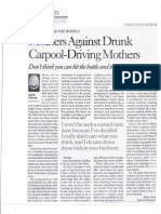 09-05-08 Mothers Against Drunk Carpool-Driving Mothers
