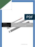 Control hidráulico en presas de materiales sueltos