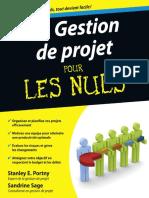 Gestion de Projet Pour Les Nuls