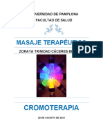Documento Cromoterapia