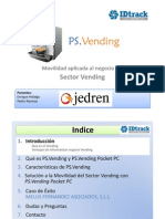 Movilidad aplicada al Sector Vending con PS.Vending Pocket PC