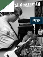 Manual Dexterity Music Zine Feb/March 2011