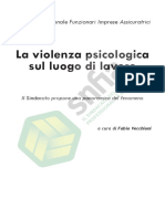 La Violenza Psicologica Sul Luogo Di Lavoro